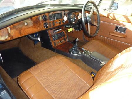 MGB 1972 Interior