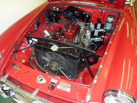 MGB HERITAGE SHELL - 1969 Engine