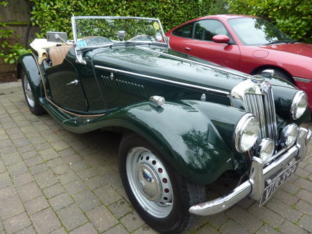 MG TF 1954 Front