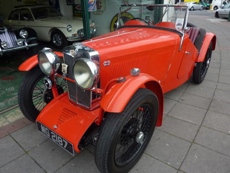 MG J2 - 1932 Front