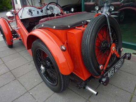 MG J2 - 1932 Front Back