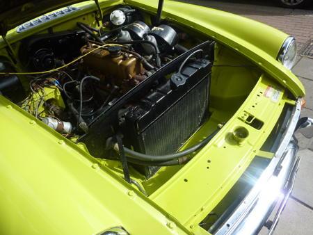 MGB GT 1973 engine