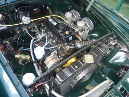 MGB 1971 Engine