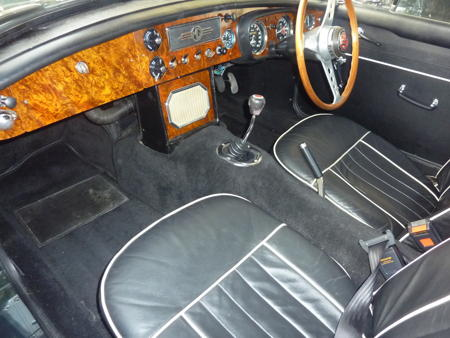 MGB 1966 Interior