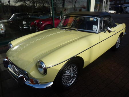 MGB 1970, HERITAGE SHELL Front