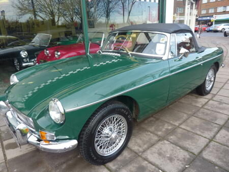 MGB - 1964 - HERITAGE SHELL Front