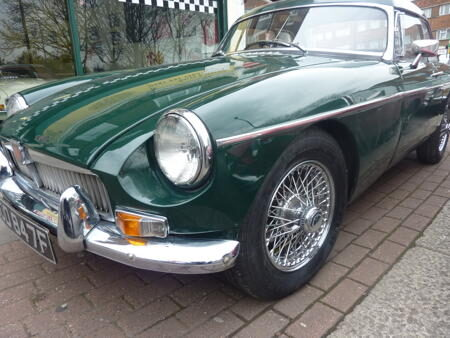 MGB 1969 Front