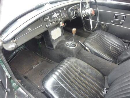 MGB 1969 Interior