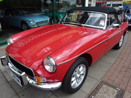 MGB HERITAGE SHELL - 1973 Front