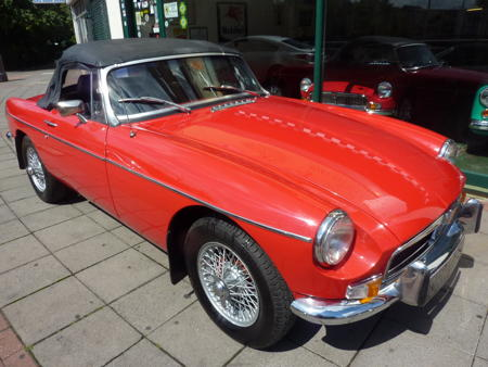 MGB 1974 Front