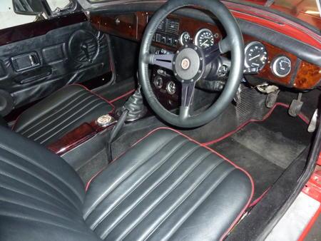 MGB 1974 Interior