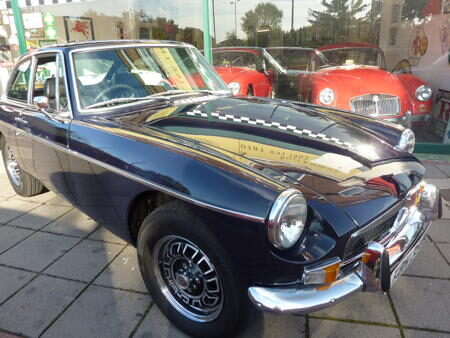 Factory GT V8 - 1973 Front