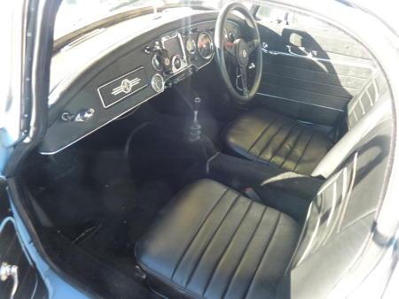 MGA 1600 MK1 Coupe Interior