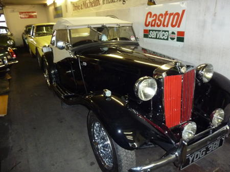 MG TD 1953 Front