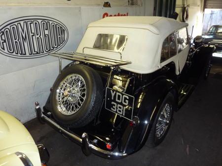 MG TD 1953 back