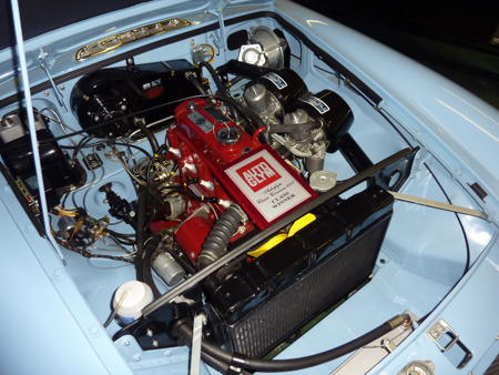 Show Standard Engine bays on MGB