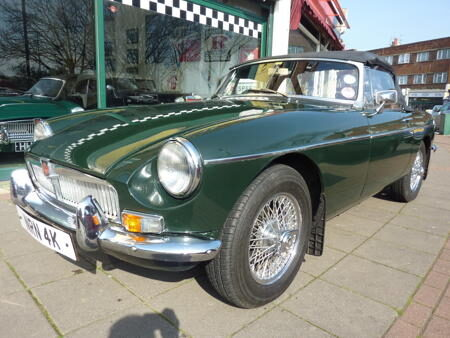 MGB HERITAGE SHELL - 1971 Front