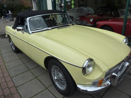 MGB 1970,HERITAGE SHELL Front