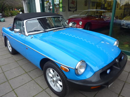 MGB Roadster 1980 Front