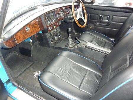 MGB Roadster 1980 Interior