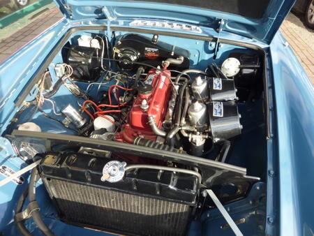 MGB GT 1970 Engine