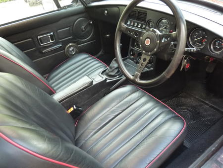 MGB GT - 1980 Interior