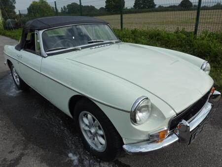 MGB HERITAGE SHELL - 1970 Front