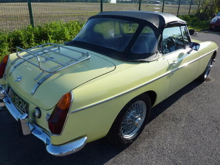 MGB HERITAGE SHELL - 1971 Back