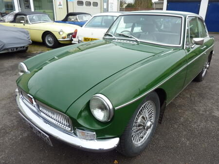 MGB GT 1971 Front