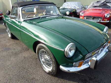 MGB HERITAGE SHELL - 1972 Front