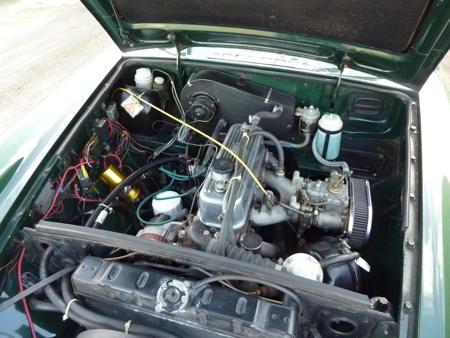 MGB - 1971 Engine