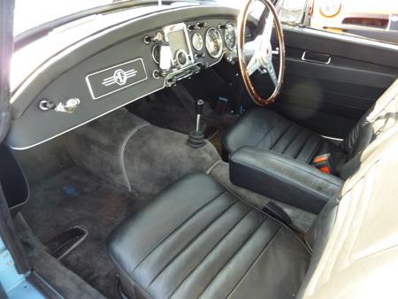 MGA 1600 MK1 COUPE RARE - 1961 Interior