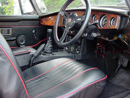 MGB 1970 Heritage Shell Interior