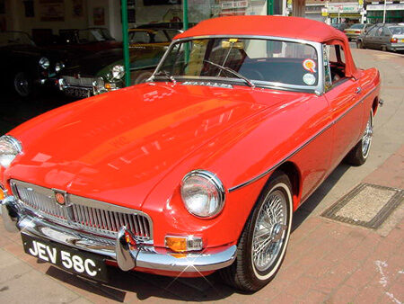 MGB ROADSTER 1964 Front
