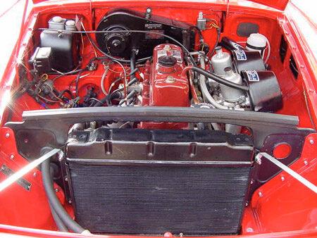 MGB 1963 Engine