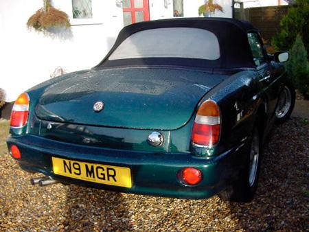 MGR V8 Back