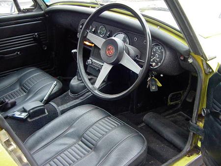 Midget 1974 Interior