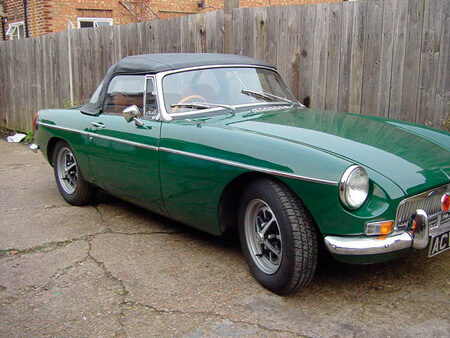 MGB 1971 Front
