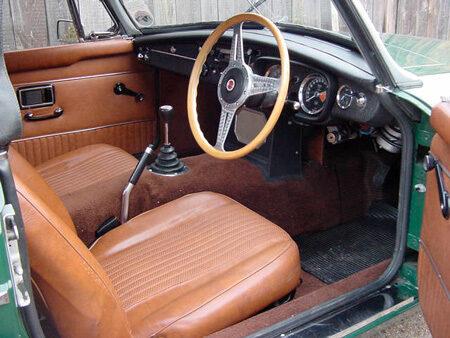 MGB 1971 Interior