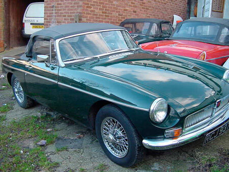 MGB 1970 Front Driver