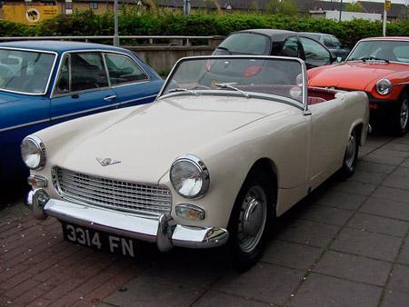 Austin Healey Sprite Mk2 Front