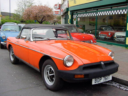 MGB Roadster 1979 front