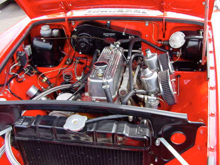 MGB Heritage Shell 1974 Engine
