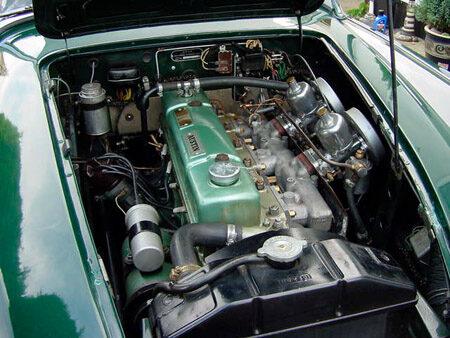 Austin Healey 100/6 [BN6] Engine