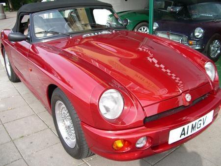 MGR V8 -1993 Front