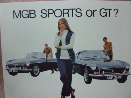 MGB Roadster and GT