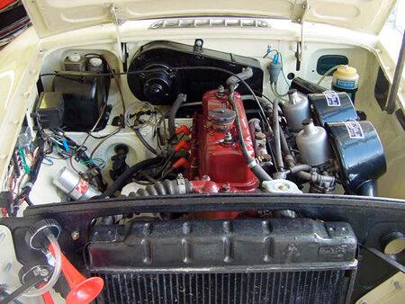 MGB 1967, Heritage Shell Engine