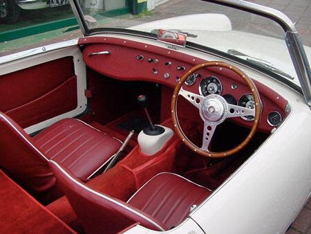 Austin Healey Sprite Mk2 Interior