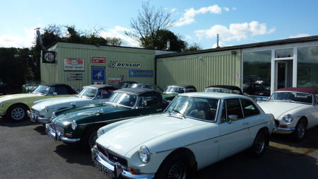 small selection of our stock front